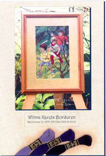 Wilma Karels Borduren.W G Van De Hulst Site